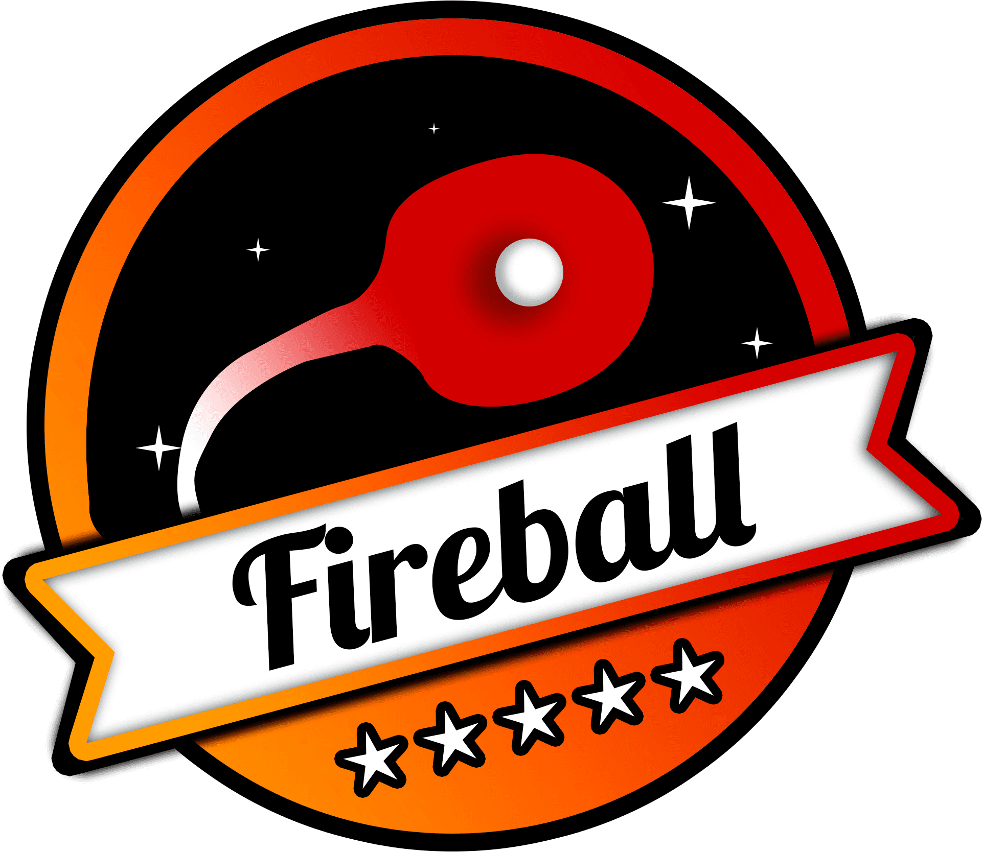 Fireball logo (Ping pong club logo)
